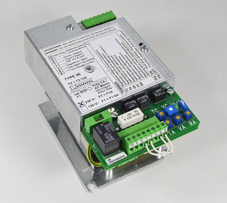 T196 / 196 / 96 TRANSIT UE Control Panel