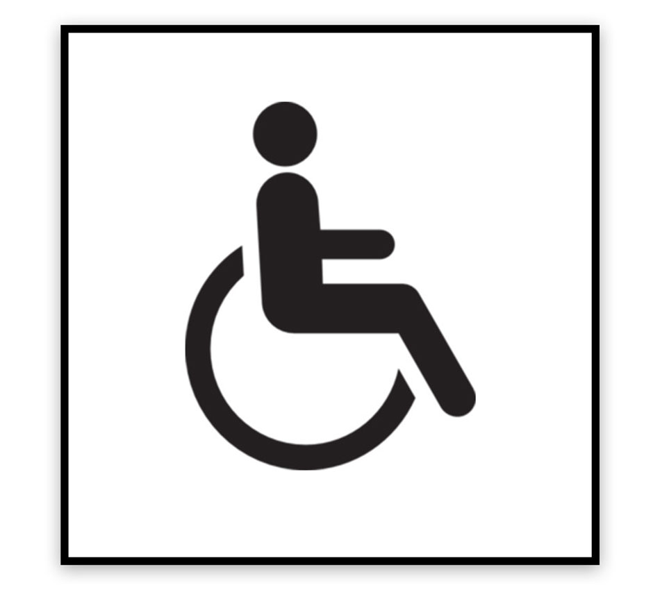 Wheelchair Logo Signage