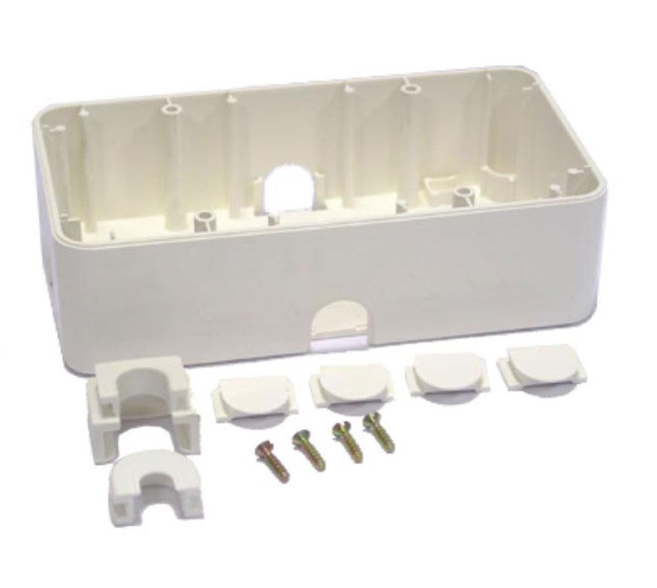 COMAR Rectangular Surface Backbox