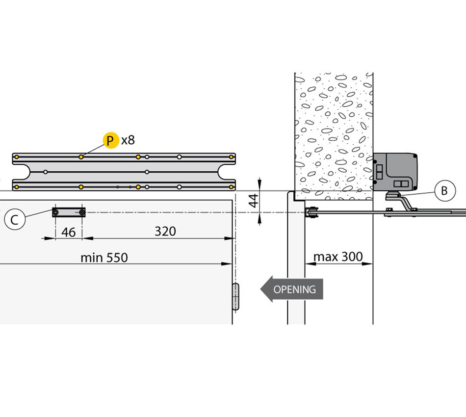 SPRINT Articulated Pushing Arm (SBA)